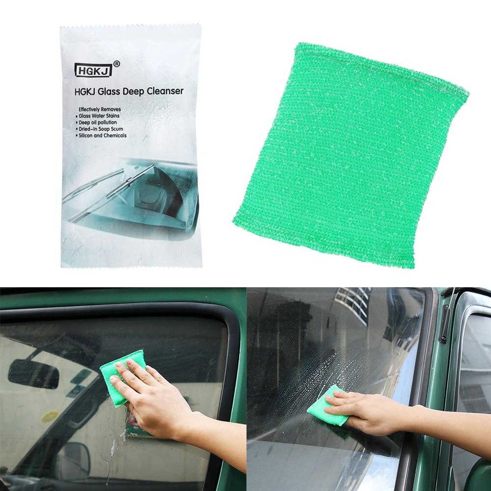 Universal Auto Glas Öl Film Scratch Entfernen Reinigung Schwamm Automotive Auto Fahrzeug Waschen Schwamm Zahlreich In Vielfalt