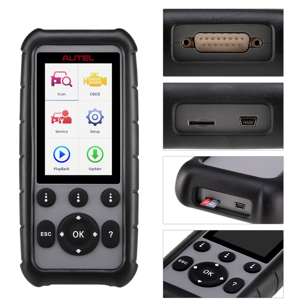 Image 2 - Autel MaxiDiag MD806 & MD806 Pro OBD2 Scanner Car Automotive Diagnostic Tool Auto Code Reader OBDII OBD Scan Tool pk MD802 MD805-in Code Readers & Scan Tools from Automobiles & Motorcycles