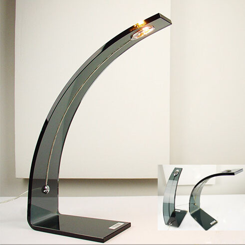 modern stainless steel desk lamp study table led decorative office lamps hot bending lighting