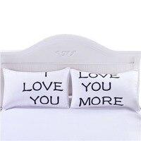 4 estilos romântico mr mrs travesseiro caso casal branco rei rainha eu te amo fronha fronha capa de travesseiro presente do casamento dos namorados|Fronha| |  -