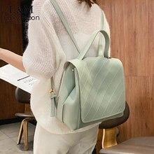 Fashion Backpack Women Anti Theft Soft Leather Quality Travel Backpacks Preppy Style Youth Hand Bag Female Mochila 2019 XA427H цена 2017
