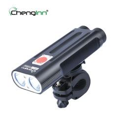 Chenglnn profesjonalny wysoki jasny rower światło CREE T6 wodoodporne światło rowerowe przenośna latarka led latarka ze stopu aluminium w Latarki LED od Lampy i oświetlenie na