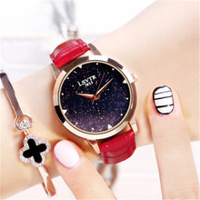 Top Luxury Brand Relogio Feminino Starry Star Women Watches Purple Leather Crystal Dial Quartz Wrist Watch  Clock Gift for wife relogio feminino dropshipping gift women watches quartz analog wrist small dial delicate luxury business watch women