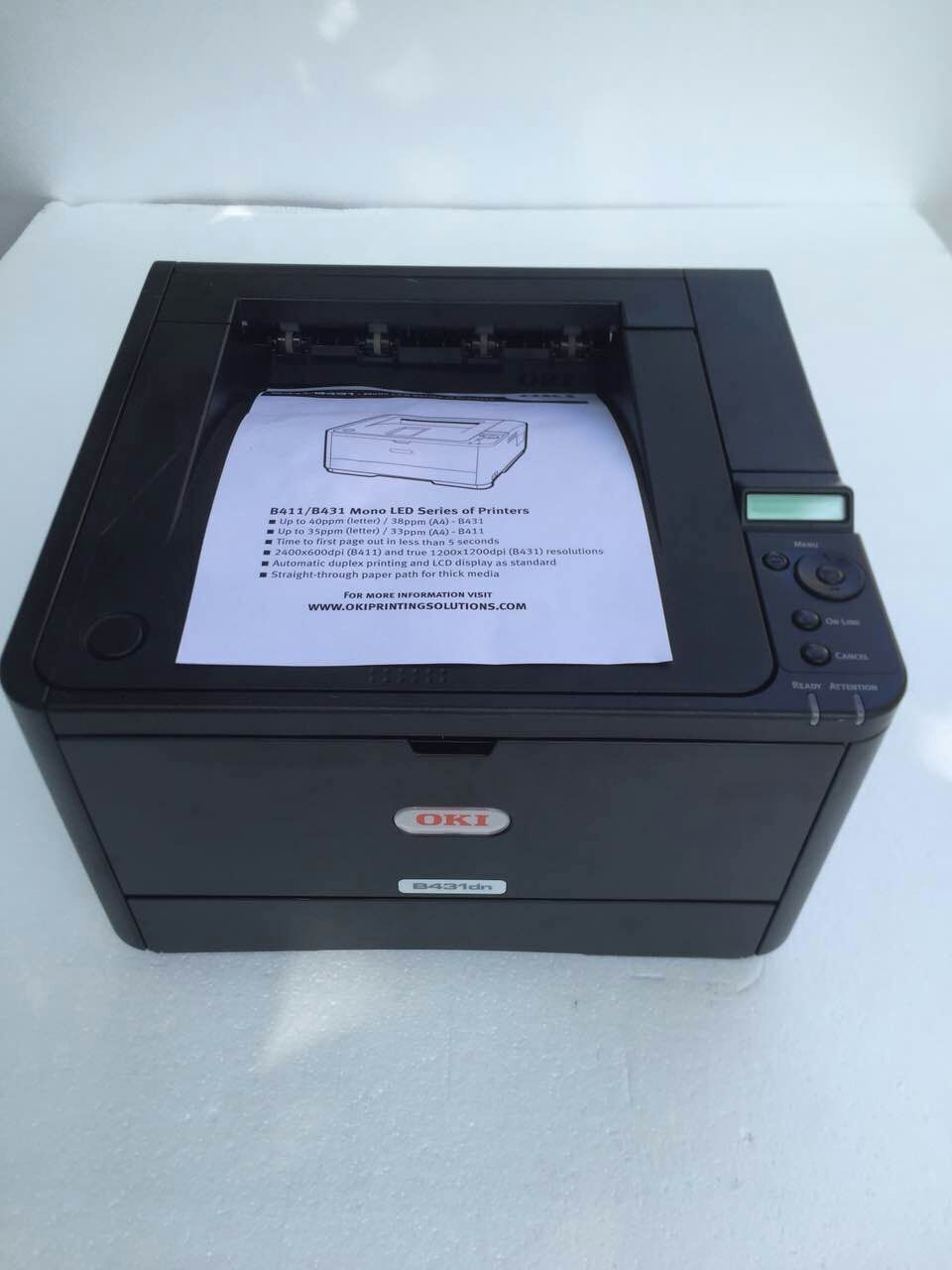 PRINTER OKI B431DN WINDOWS 7 DRIVER