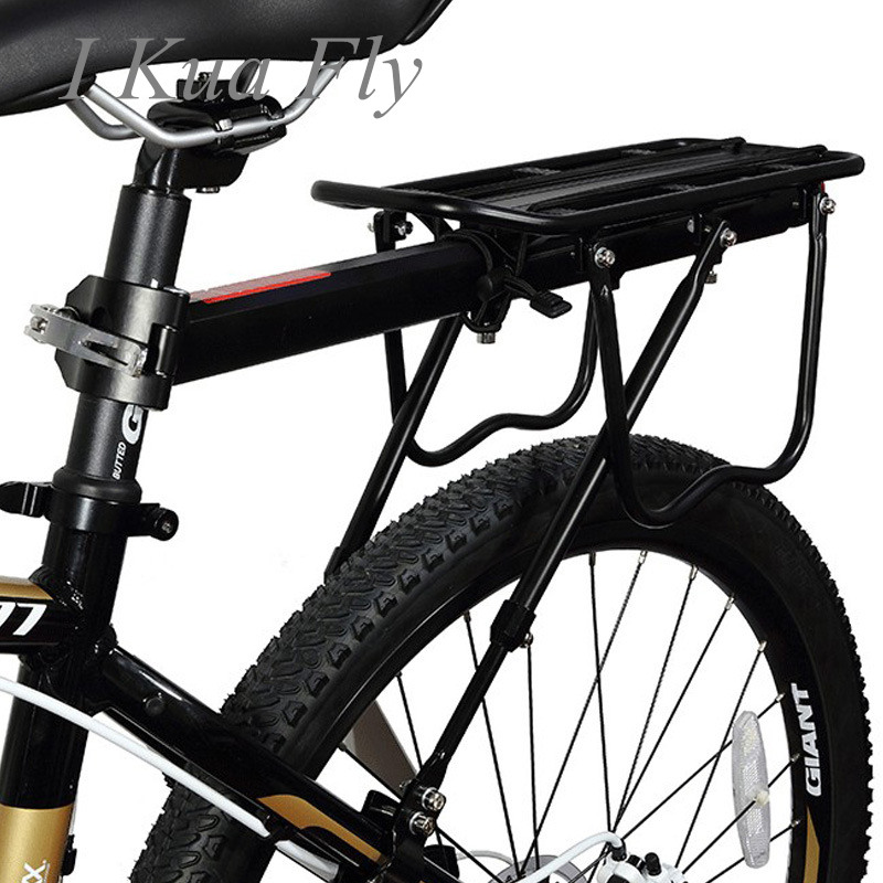 Bicycle Luggage Carrier 25KG Load Rear Rack Road MTB Shelf Cycling Seatpost Bag Holder Stand 15 20' Bike 4|Bicycle Rack| |  - title=