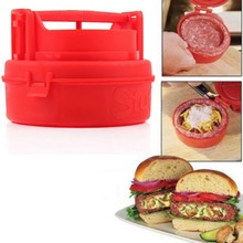 Hamburger Presses Maker Press Cutlets Stuffed Hamburger Mold Grill Kitchen Tools Manual Hamburger  Press Burger Gadget  KO870038
