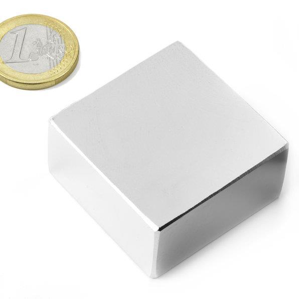 2PCS block 40mm x 40 mm x 20mm Super Strong magnet Rare Earth Block NdFeB neodymium Magnets 40*40*20 40x40x20 newest magnets 2pcs dia 40x20 mm hot round magnet 40 20mm strong magnets rare earth neodymium magnet 40x20mm wholesale 40 20mm