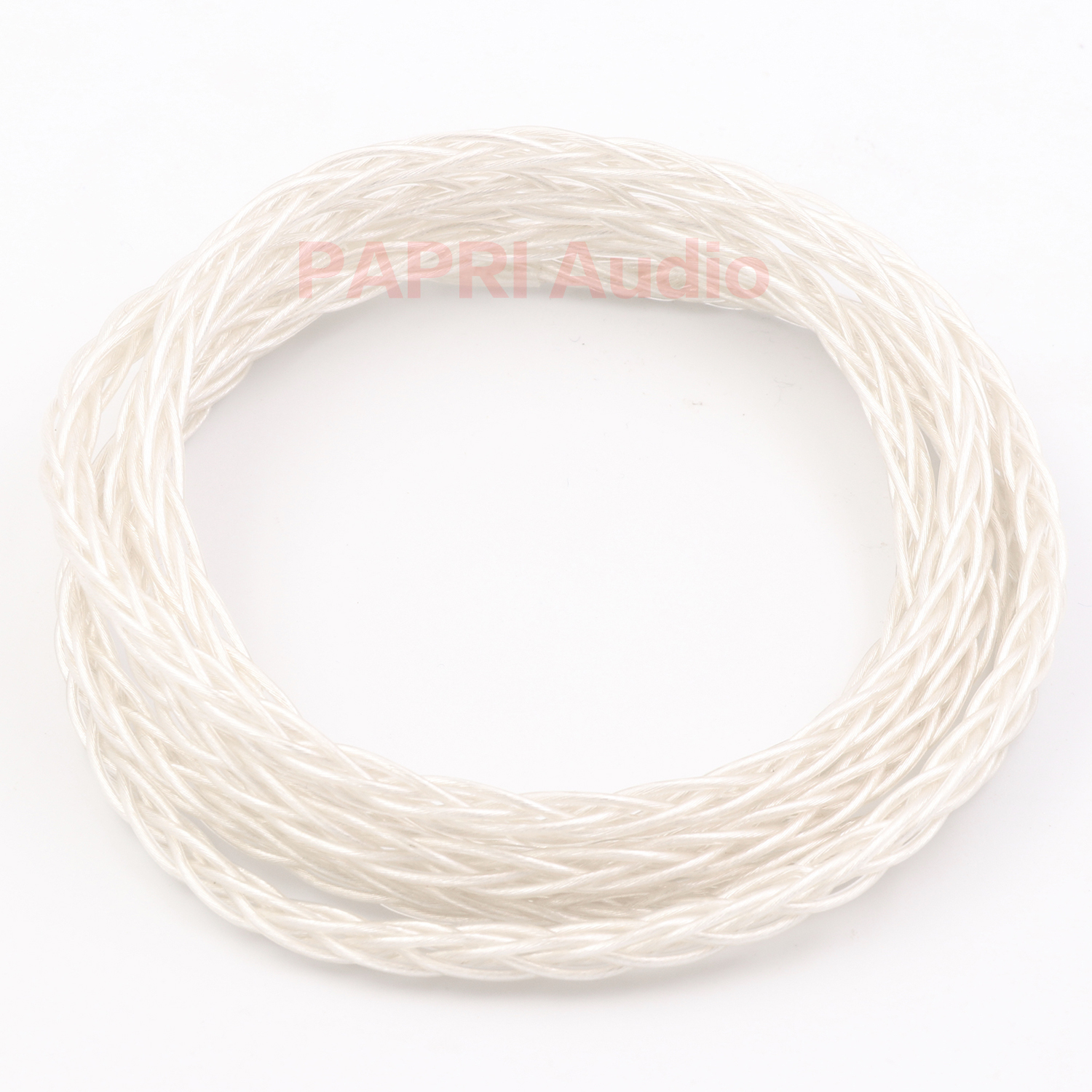 PAPRI Newest GS02 8Cores Upgrade Headphone Cable 6N OCC+Silver Plated Litz Structure Wire Hifi DIY For Earphone Audio Line