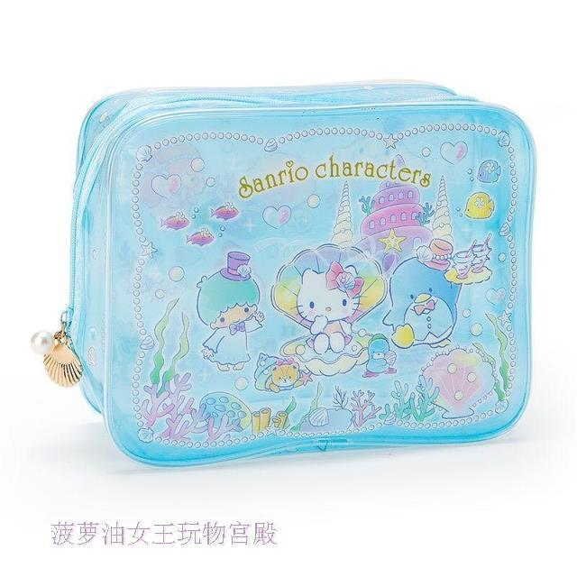 Cute Original My melody little twin stars pu leather purses dolls comestic bags handbag dolls accessories for girls gifts