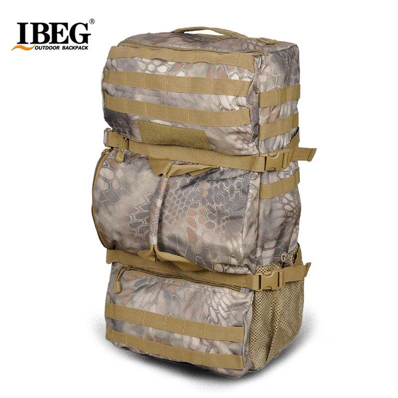 Prix pour Militaire extérieure Armée Sac À Dos Trekking Sport Camouflage sacs à dos de Grande capacité sac à dos 50l