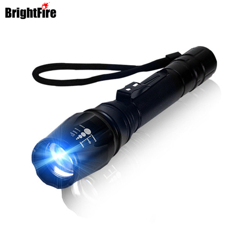 H092 Ultra Bright 5000LM Tactical Flashlight Zoom LED Flashlight Torch 5 Mode Zoomable Penlight world wind 309 skywolfeye high qualitythe original 900 lumen ultra bright led 5 mode flashlight free shipping