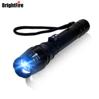 Ultra Bright 2000LM CREE XM L T6 Tactical Flashlight Zoom LED Flashlight Torch 5 Mode Zoomable