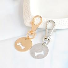 Dog Bone Design Dog Collar Pendant and Master Necklace Matching Set