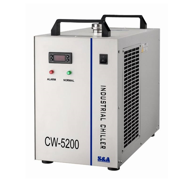 Industrial Water Chiller CW 5200AH Laser Machine Cw5200 For CNC Spindle Cooling