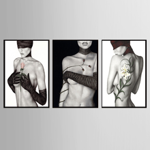 Factory wholesale (No Framed)Modern nude art Custom Canvas Print On Printing Wall Pictures KJQ-273