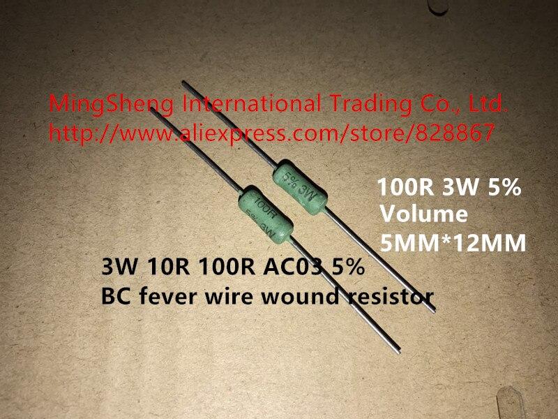 RESISTORE FILO-ferita; con dissipatore di calore; Vite; 33Ohm; 100W; ± 5/% 1 pz