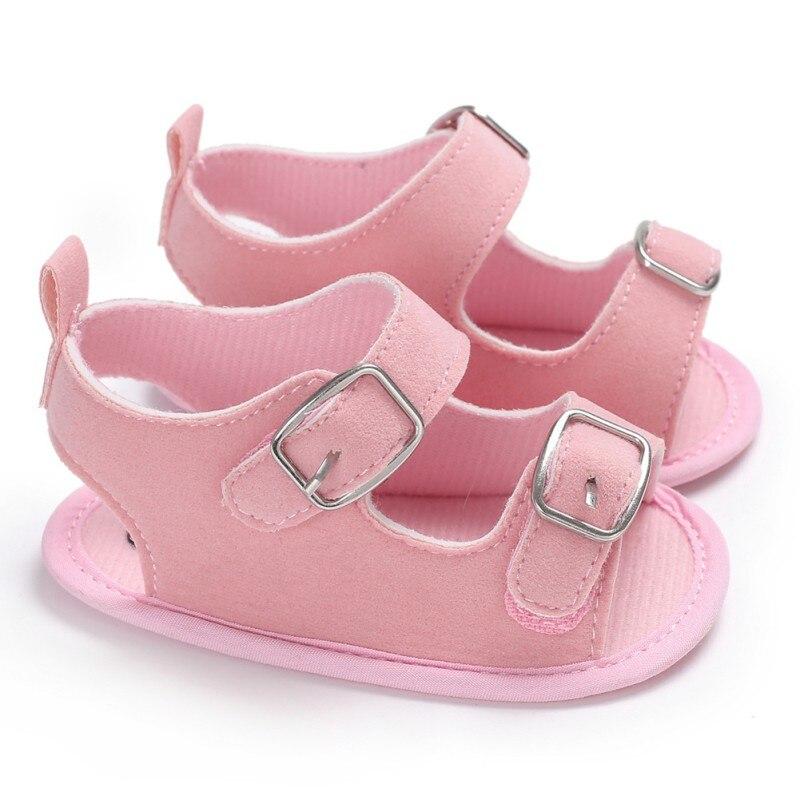 Summer Shoes Sweet Baby Toddler Sandals Soft Non-slip Newborn Shoes Boys Girls 2018 Sandals