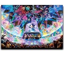 Diamond Paint Cross Stitch Embroidery Square Cartoon Anime & Round Mosaic Image Full mickey mouse