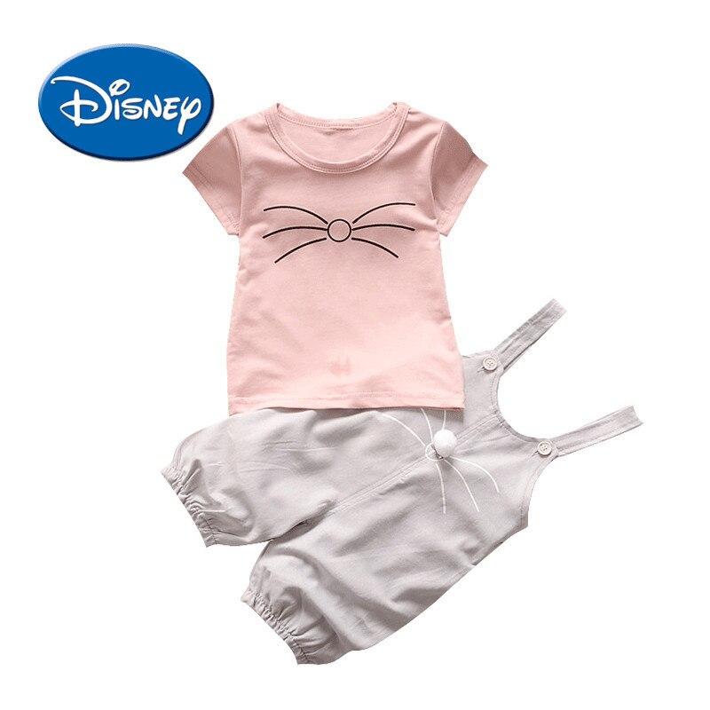 Disney Ufficiale Flagship Negozio Bambino Indumento dei bambini 0 Vestiti Del Bambino 1 Anno Ragazza Del Bambino Salopette Vestito 2 Ragazza