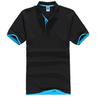 2015 Summer Men S Cotton Men S Polo Shirt Quick Dry Breathable Casual Solid Polo Shirt