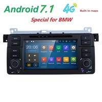 7 Inch Android 7 1 Quad Core 2G RAM Car DVD Player For BMW E46 M3