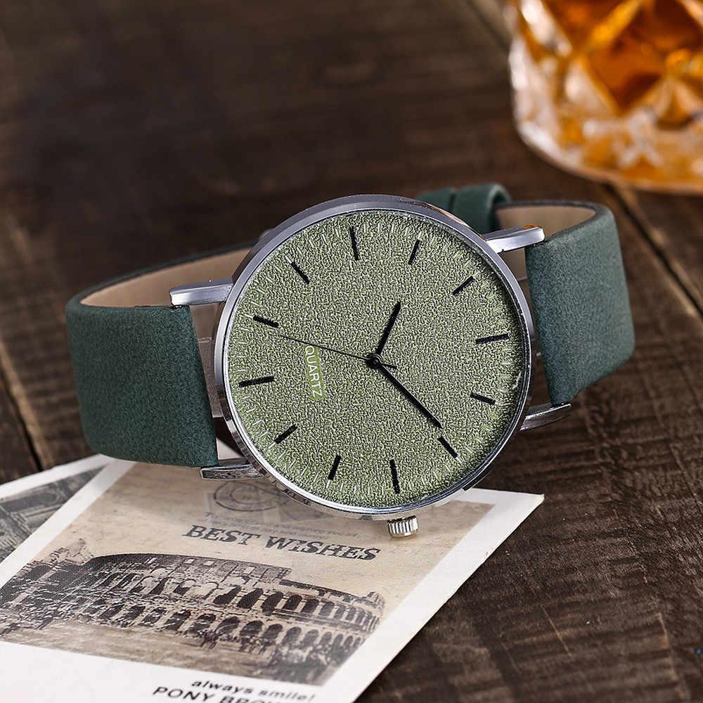 Vansvar marque de luxe femmes montres à Quartz en cuir bande hommes montre analogique montre-bracelet dames robe montre femme 2018 en gros