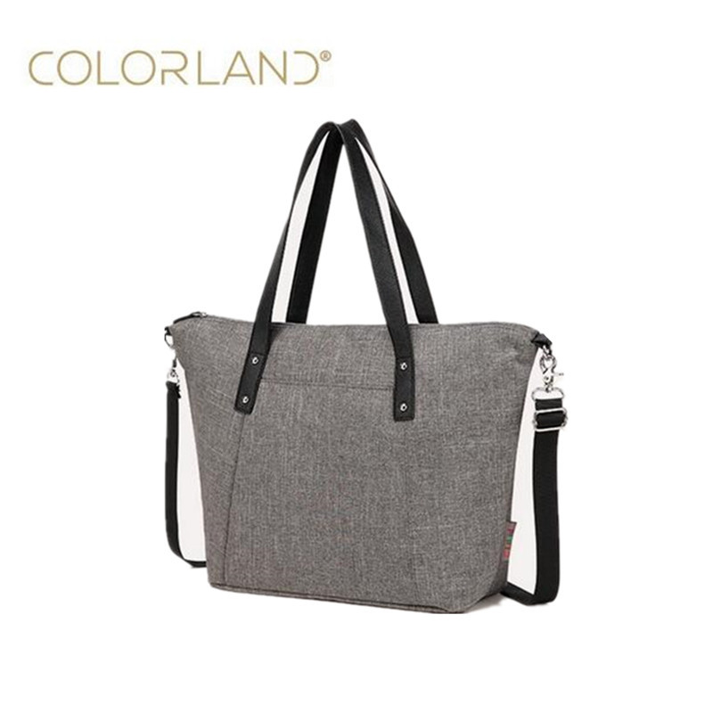 Colorland Fashion Baby Stroller Bag Mother Maternity Bag Large Diaper Bag Organizer Diapers Mummy Handbag Nappy Bags for pram baby nappy bags diaper bag mother shoulder bag fashion high quality maternity mummy handbag waterproof baby stroller bag xv5