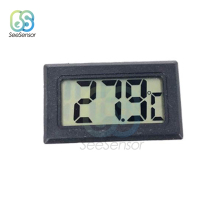 Mini LCD Digital Thermometer for Freezer Indoor Convenient Temperature Meter Sensor Fridge Refrigerator