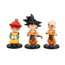 6 tipos Anime Dragon Ball Z Goku Kuririn Piccolo Gohan Goten Vegeta Trunks Upa Bulla Chichi Dragonball Figuras de Ação brinquedos(China)