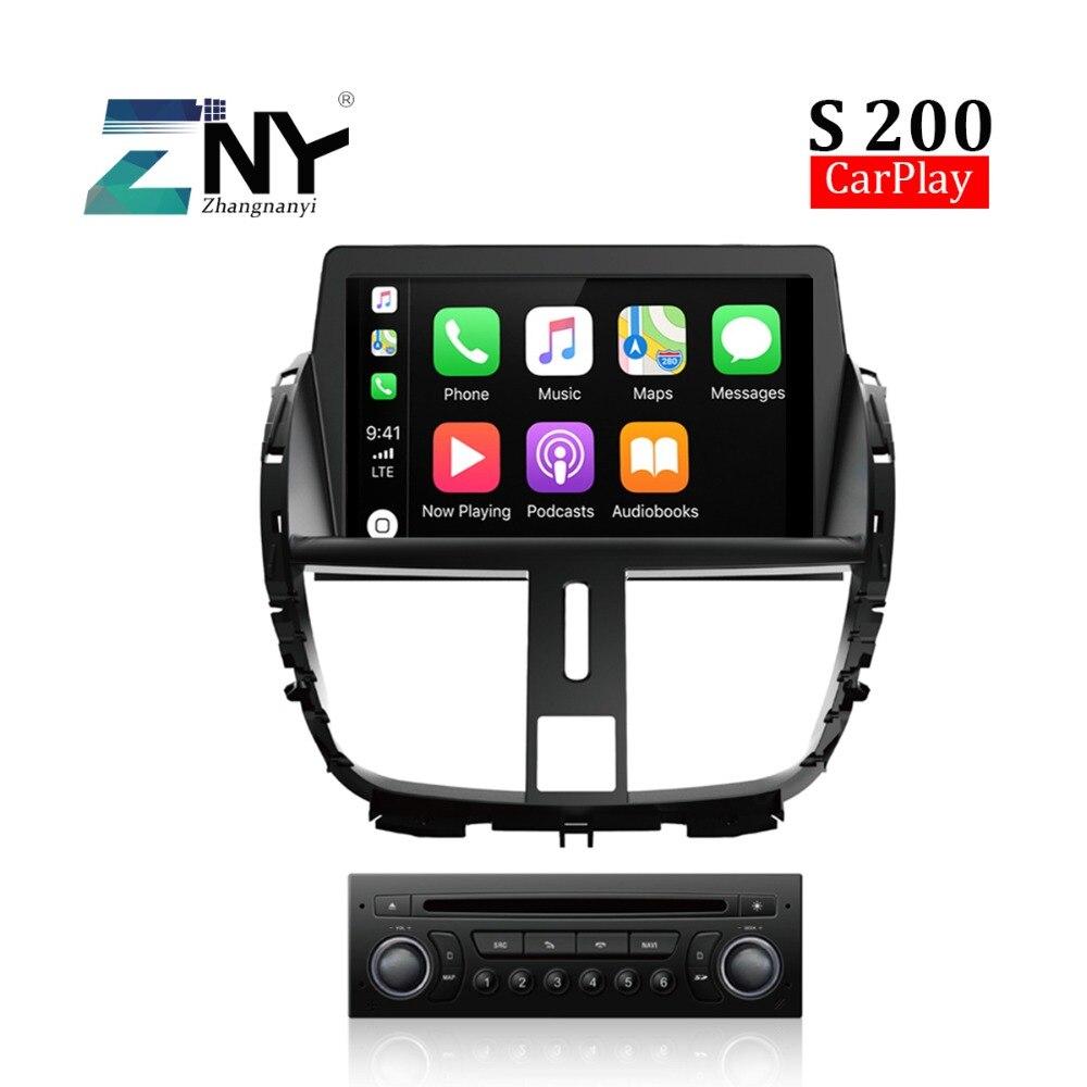 S200 8 Android DVD De Voiture Pour Peugeot 207 207CC Auto Stéréo FM Radio RDS GPS Navigation Headunit Audio Vidéo multimédia CarPlay