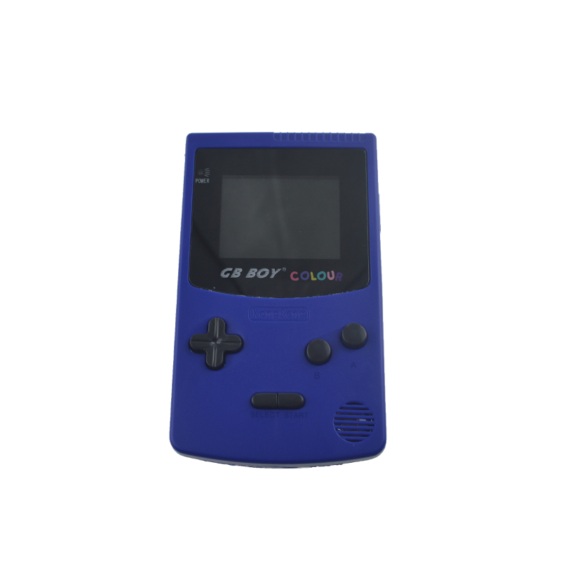 gb boy color colour handheld game consoles game player with backlit 66 built in games for children game console - Colour Games For Children