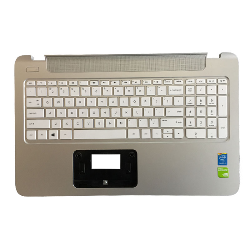 NEW For HP 15-P 15P 15-p011st 15-p012st 15-p014st 15-p015st 15-p017st US laptop Keyboard Palmrest COVER
