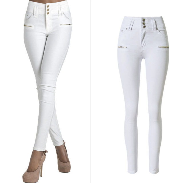 Niza Top Moda de Mujer de Marca Sexy Denim Jeans Skinny Jeans Pantalones de Cintura  Alta 39c0aa1caa4b