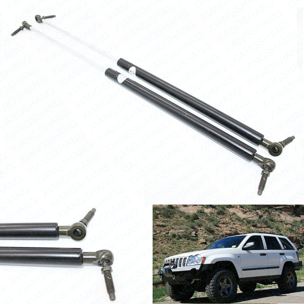 1Pair Rear Hatch Liftgate Tailgate Trunk Lift Supports Struts Shocks For Jeep Grand Cherokee 2005 2006 2007 2008 SG314044 55394323AA