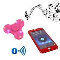 Popular EDC ABS Bearing Hand Spinner Bluetooth Connect Make a Music For Autism ADHD Anxiety Stress