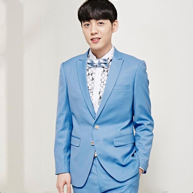 High quality men suits slim fit men\'s wedding suits tuxedos solid ...