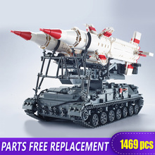 Xingbao 06007 1469Pcs Military Series The SA-4 Ganef Set Building Blocks Bricks Children Educational Toys Model Birthday Gifts lis lepin 31001 military egypt pharaoh series the scorpion pyramid children educational building blocks bricks toys model gifts