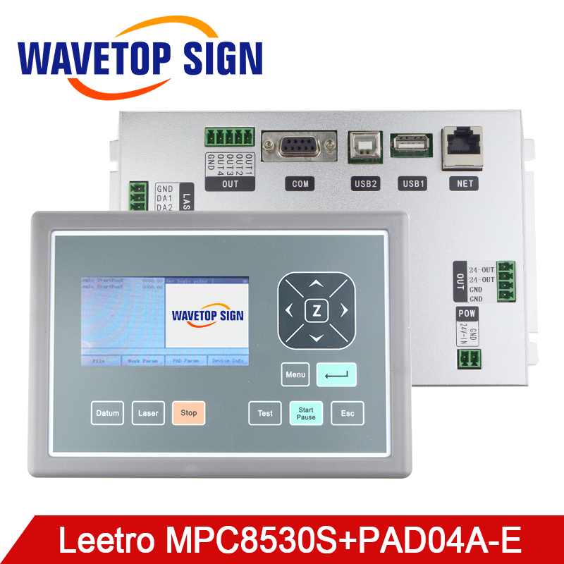 WaveTopSign Leetro MPC8530S CO2 Laser Controller DSP Motion Control System Board user for Laser Engraving and Marking Machine