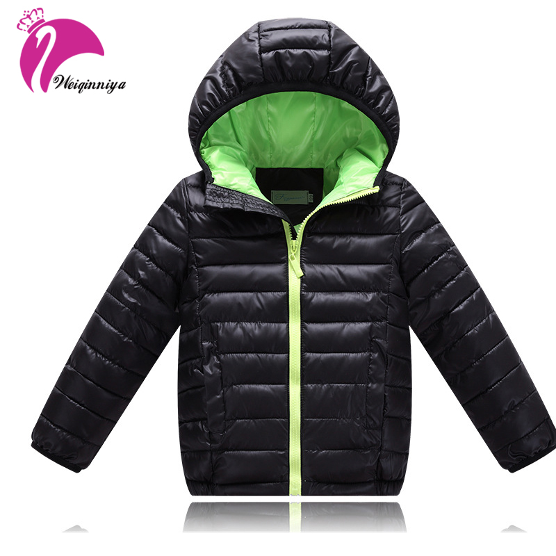 Kids Boys Winter Coat New Brand 2017 Fashion Solid Hooded Thick Cotton Down Warm Clothes Children Parka Jacket Clothing Outwears 2016 fashion boys winter jacket new design thick warm single breasted hooded outwear kids children clothes boys coat for 2 8year