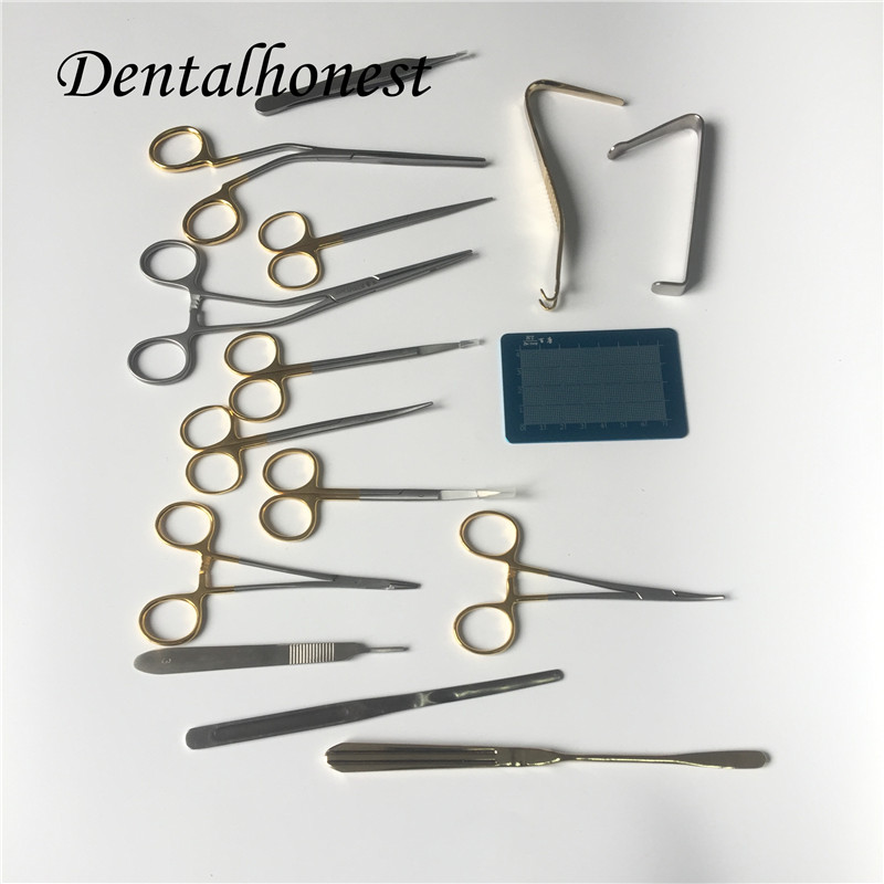 2019 High Quality Nasal Plastic Surgery Instrument Set Stainless Steel Tools Instrument