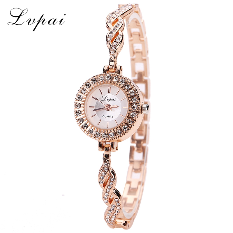 Fashion Women Watch Luxury Women Dress Bracelet Watch 2017 Crystal Quartz Dress Wristwatches Classic Gold Ladies Business Watch fashion women s sparkle crystal bracelet quartz dress watch