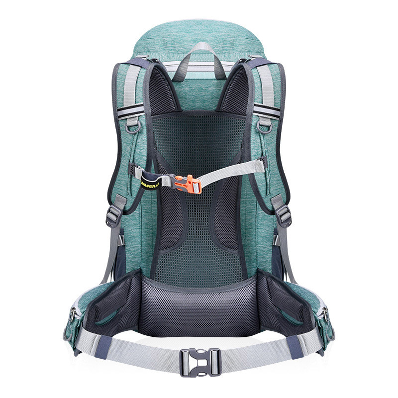 Cycling Professional Climb Backpack Travel Backpack Trekking Rucksack Camp Equipment Hike Gear 50L Outdoor Bag With Rain Cover
