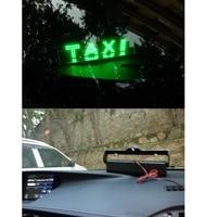 led white Daytime running lights for the car TAXI led light Cab indicator Car light Custom design Fog light Red/Blue/White/Yellow/Green (3)