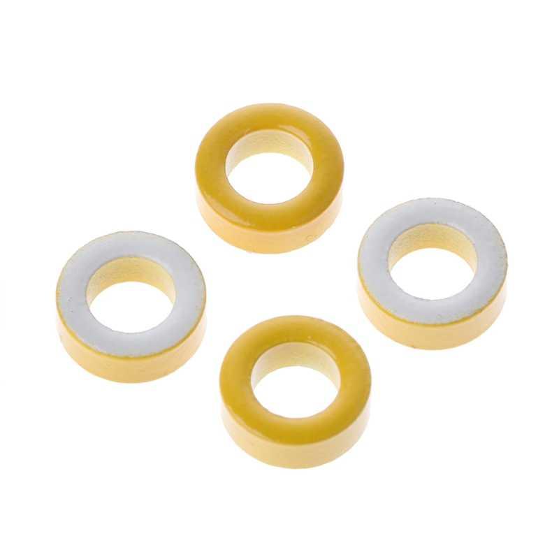 50 шт./компл. T50-26 Железный сердечник питания тороидальные ферритовые кольца 7,5 мм ID для индукторов