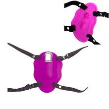Переносной клитор стимулятор силиконовый вибратор бабочка Секс-игрушки Для девушку женский оргазм Sex Machine взрослый Эротические товары Sextoy
