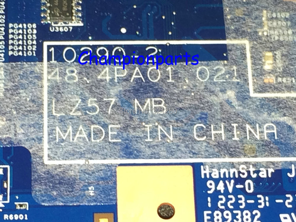 NEW !!! FREE SHIPPING 48.4 PA01.021 Suiatble For Lenovo B570 B570E V570E notebook laptop motherboard Integrate Video Chip
