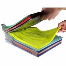 10 слоев органайзер для одежды футболки складная доска органайзер для одежды система органайзер для шкафа органайзер для ящика организация