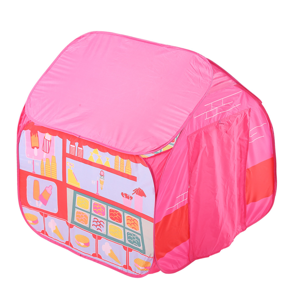 YARD Children Beach Baby Play Game House Kids Princess Baby House Playhouses for Kids kids crooked house kids crooked house