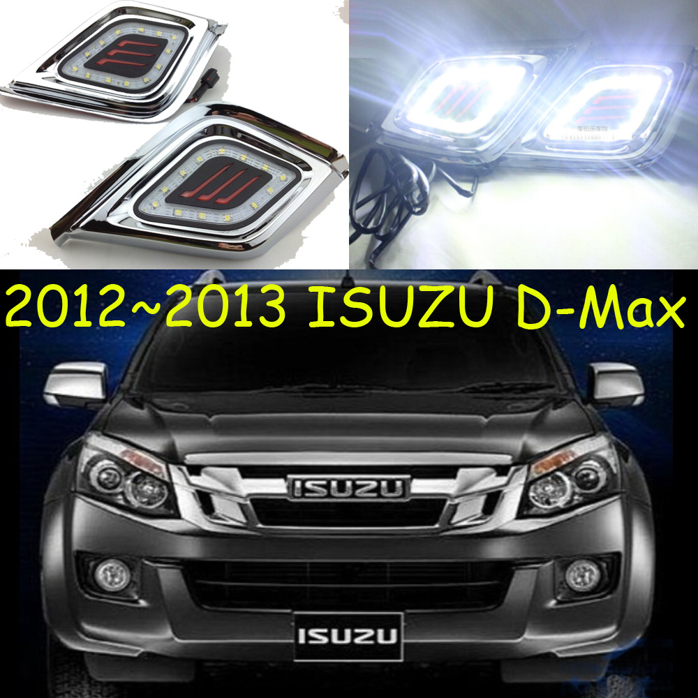 2007 2011 2012 2013 D Max daytime light Free ship LED D Max fog light 2ps