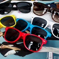 2016 Hot Retro Plastic Men Sun Glasses Colorful Mirror Vintage Man Sunglasses Women Summer Uv400 Eyewear
